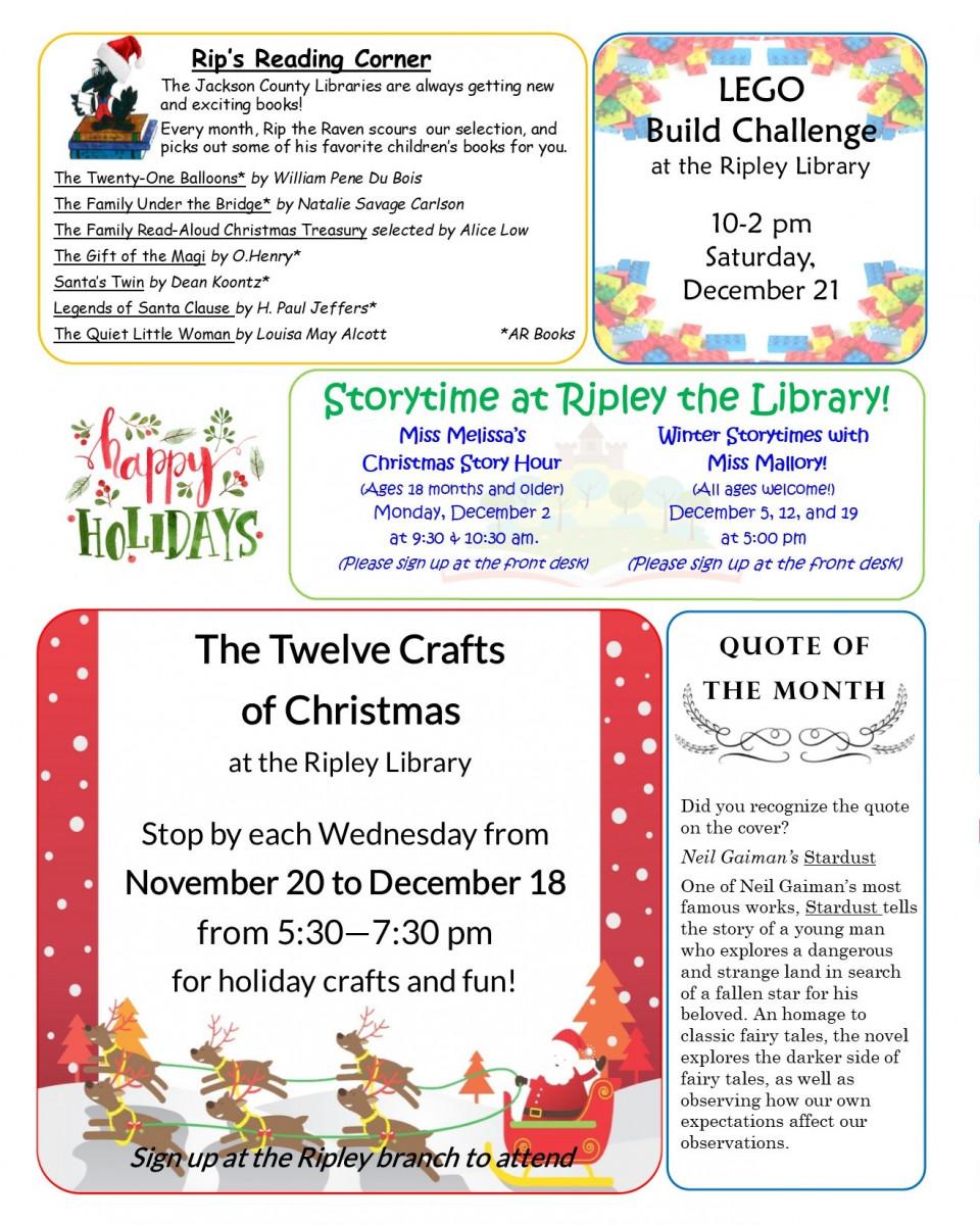 December Newsletter 2
