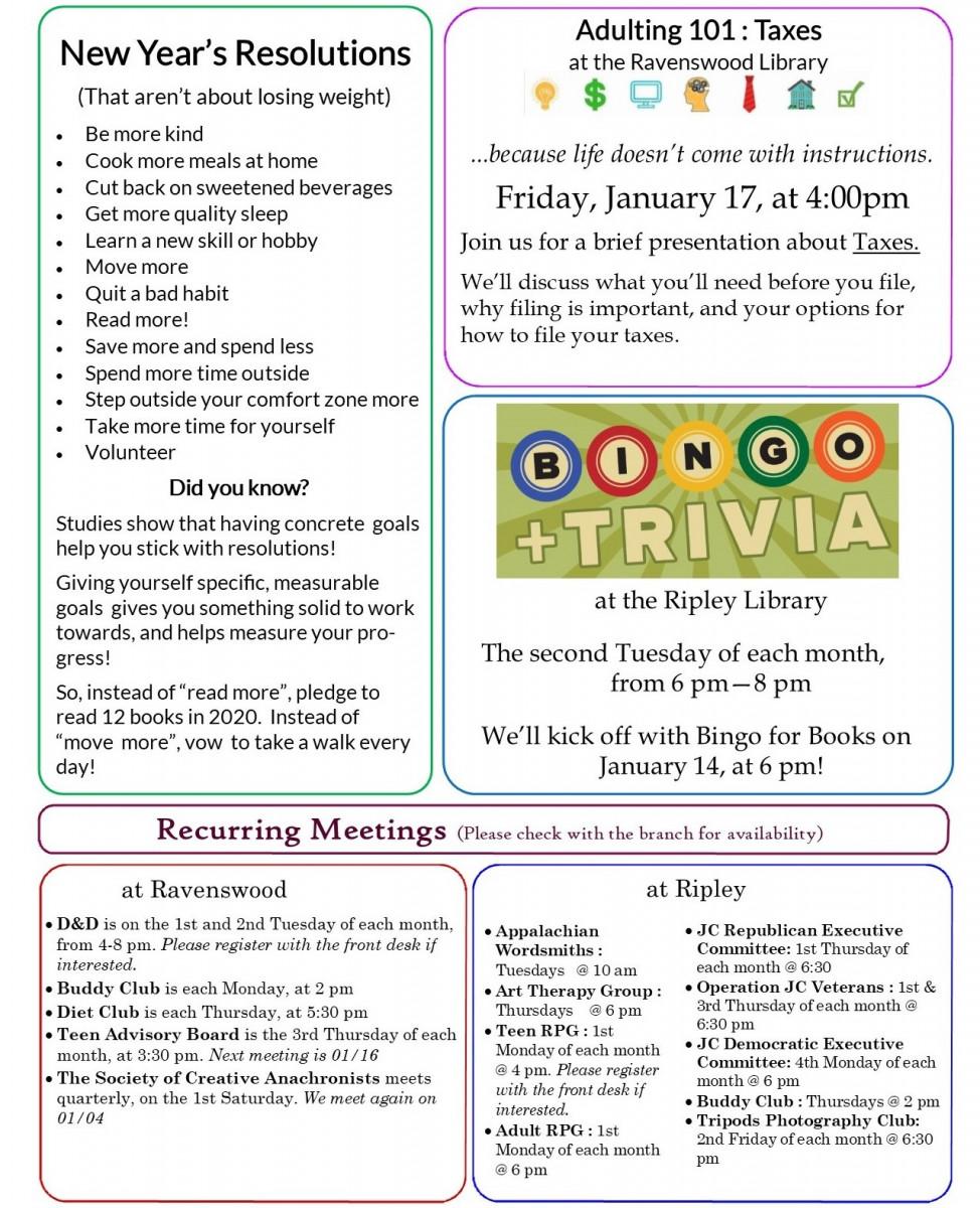 January Newsletter E