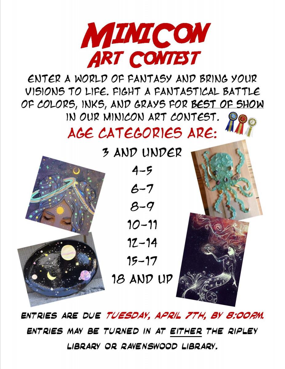 MiniCon Art Contest 2020