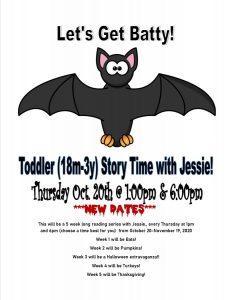 Toddler Story Time - JB