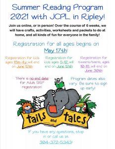 SRP 21 Flyer for Sign ups