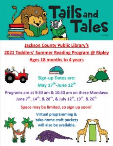 Toddlers SRP Flyer