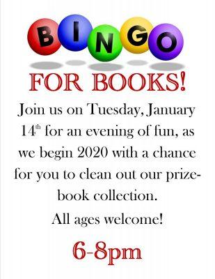 Bingo for Books 2020
