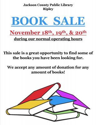 Fall Book Sale 2021