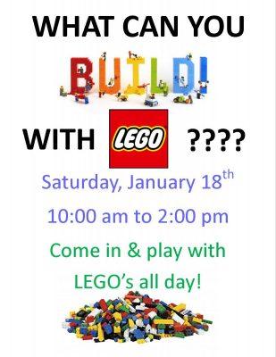 LEGO Jan 18 2020