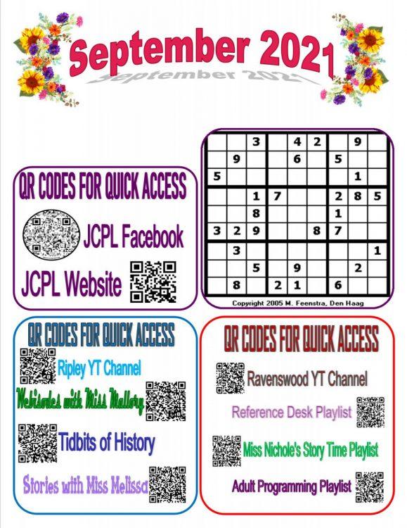 Newsletter Insert September B