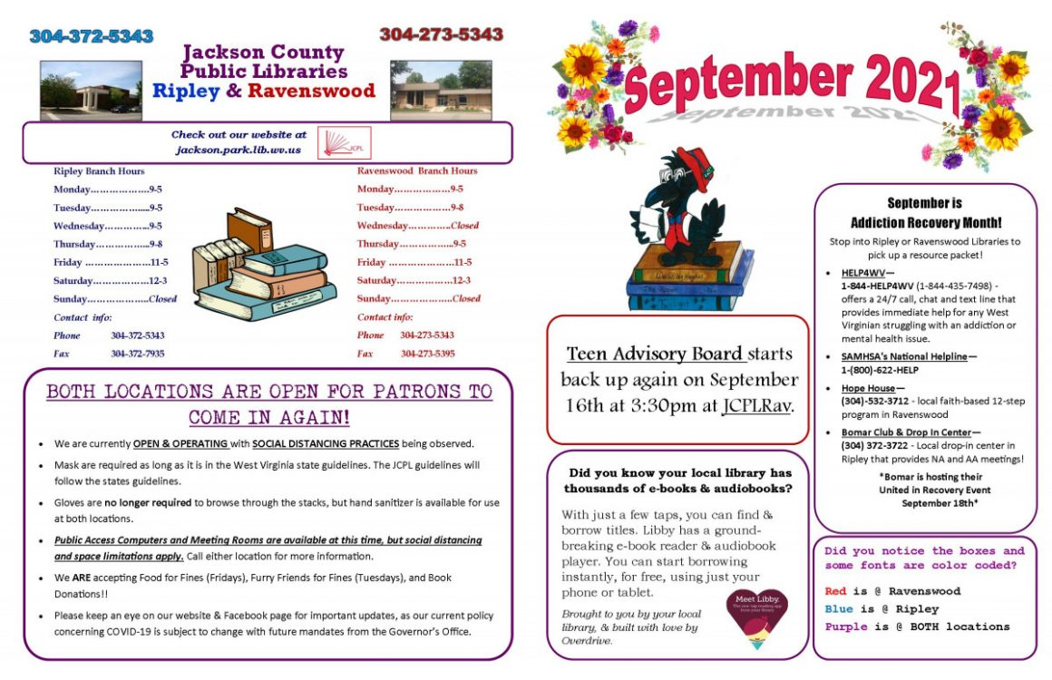 September Newsletter 2021 B
