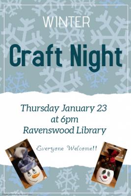 winter craft night